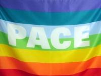 la bandiera per la pace