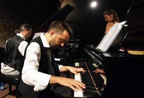 fabulous twin pianos